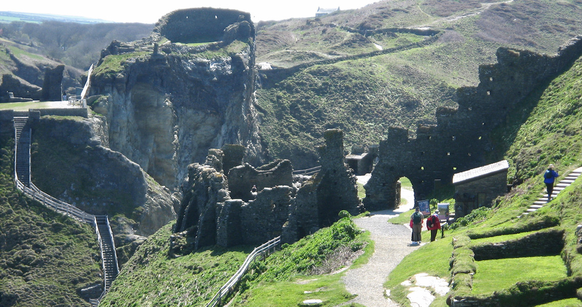 Palace Found at Tintagel, Fabled Birthplace of King Arthur
