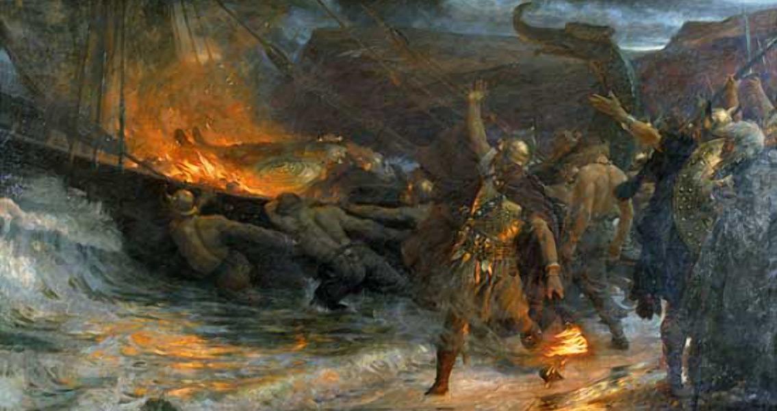 Grave of Axe-Wielding Viking Berserker Found in Denmark