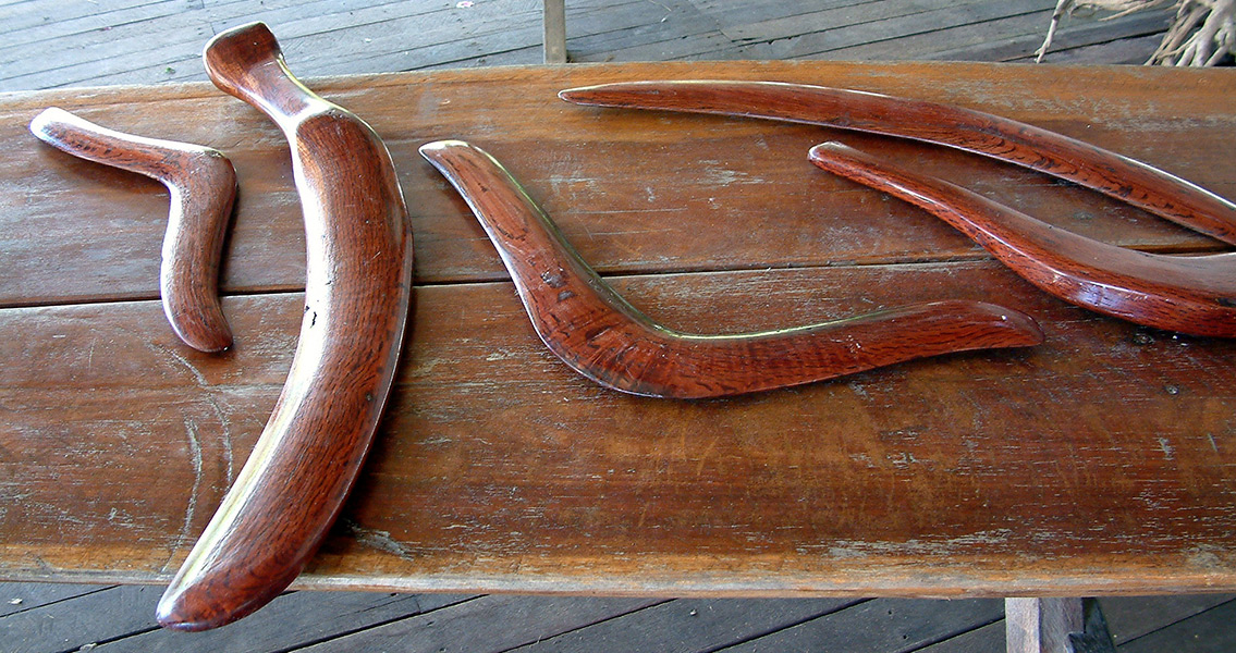 Research Shows Aboriginal Boomerang as Deadly as Metal Weapons