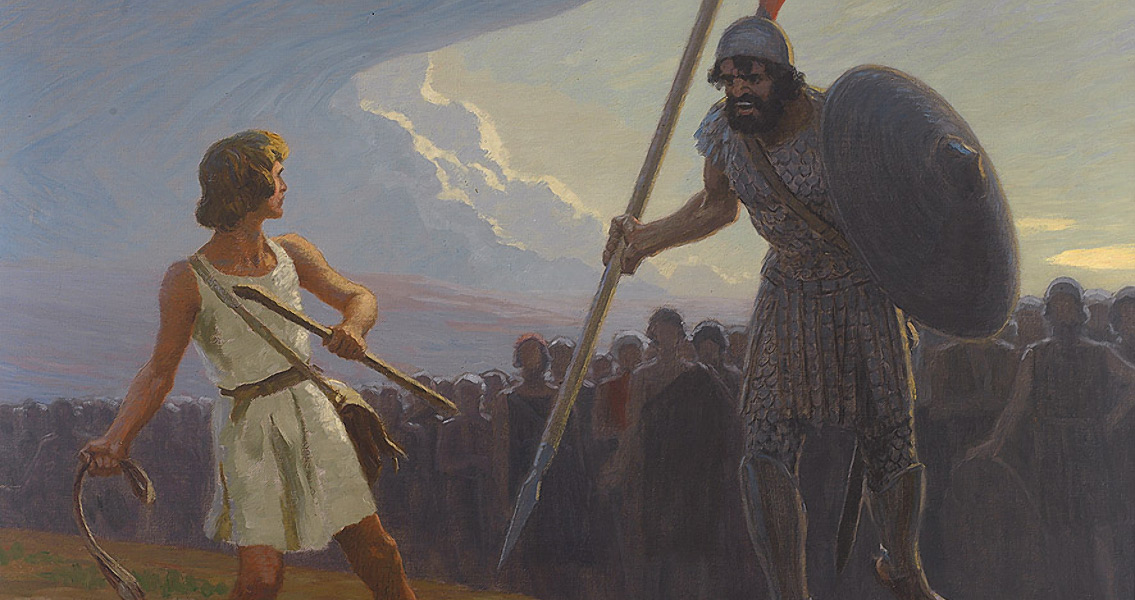Findings from the Site of David Versus Goliath on Display for the First Time