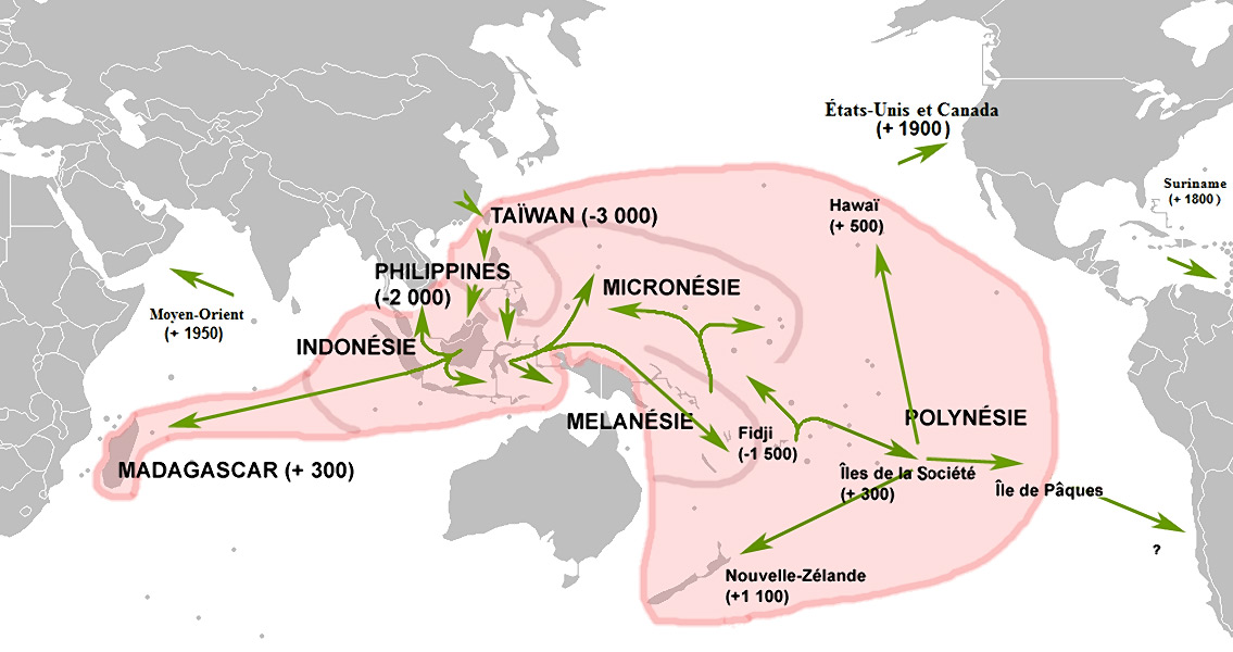 DNA Sequencing Proves First Polynesians Didn't Linger on Their Journey