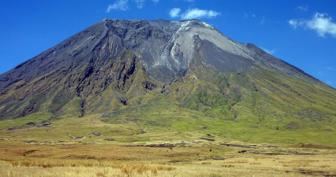 Ancient Footprints Persevered in the Shadow of African Volcano
