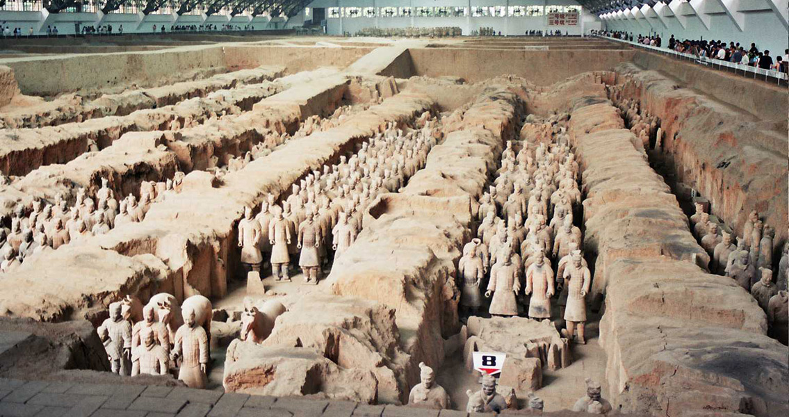 Was the Terracotta Army the Result of Greek Influence?