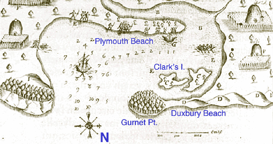 Original Site of the Plymouth Colony Identified