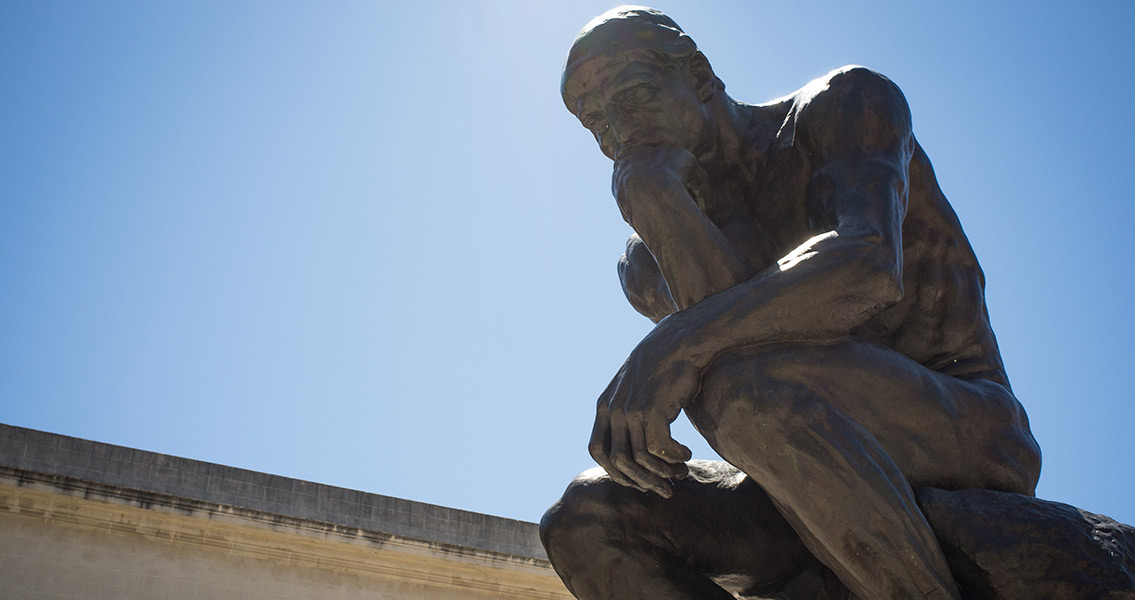 "Newly Discovered Sculpture Looks Like Rodin's ""Thinker"""
