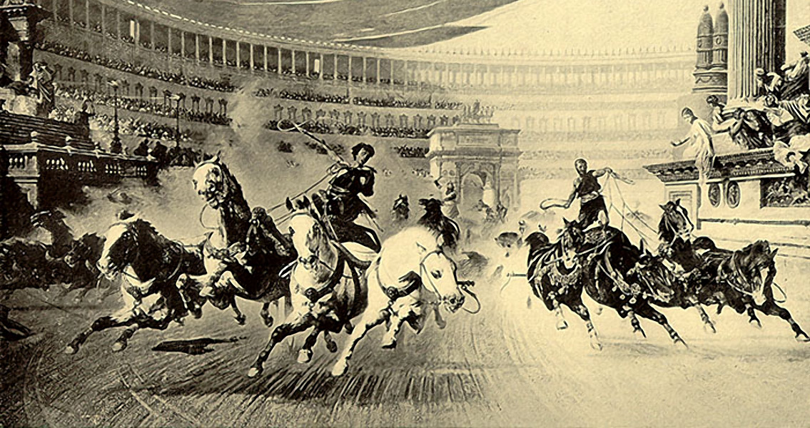How Ancient Roman Chariots Were Kept From Crashing