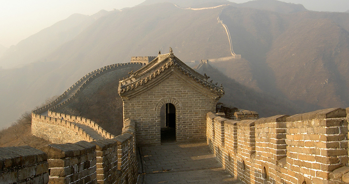 Great Wall Of China Building History