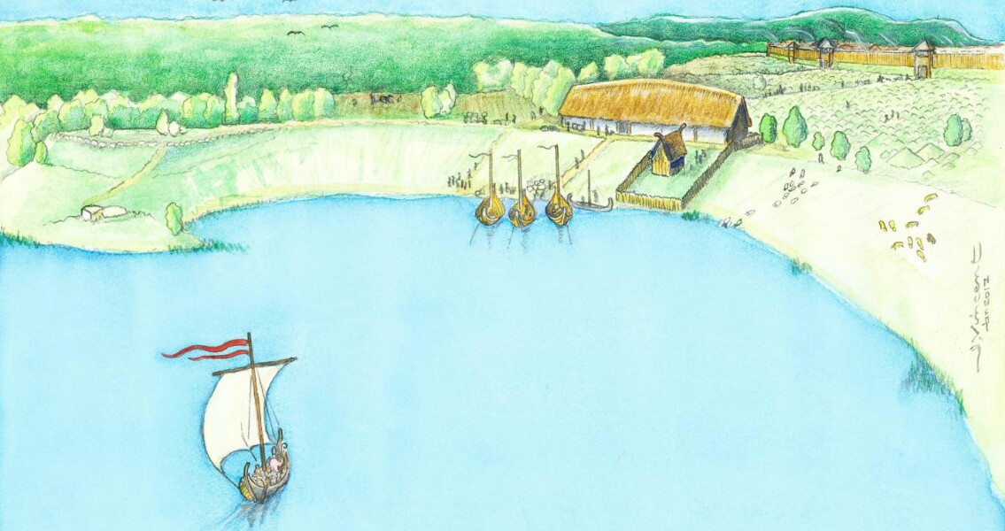 Spectacular Viking Age Manor Discovered in Sweden