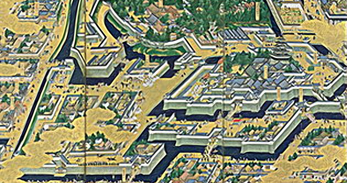 New Research Finds Map of Shogun's Castle to be Among Oldest