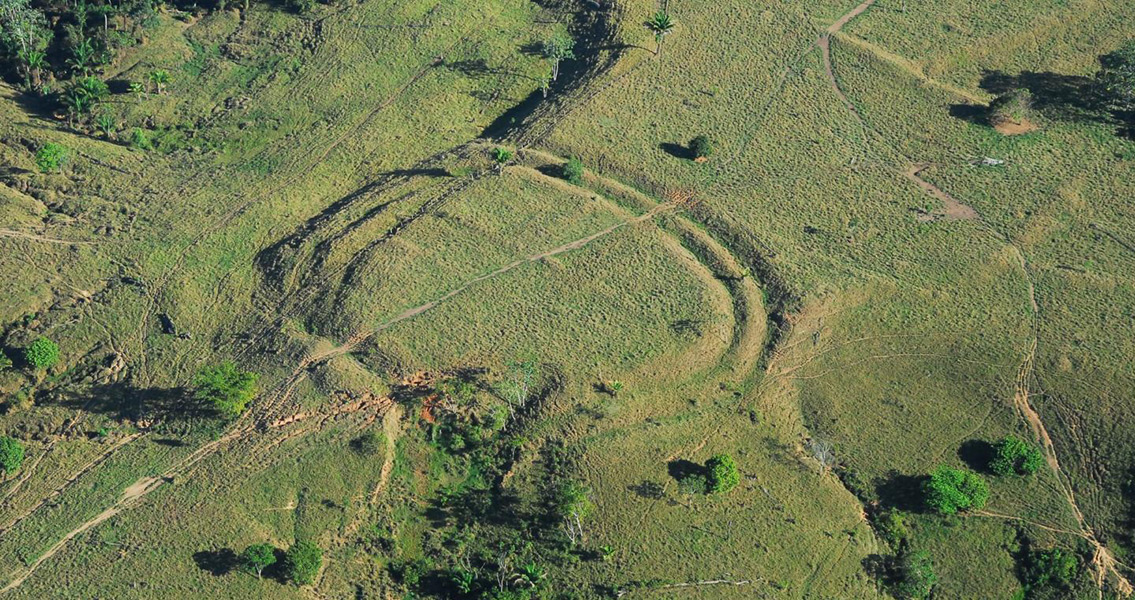 Mysterious Ancient Geoglyphs Found in Amazon Rainforest