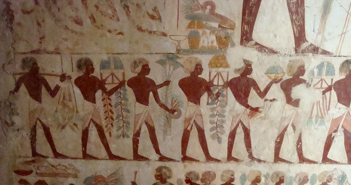 Tomb of an Egyptian Scribe Accidentally Discovered in Luxor