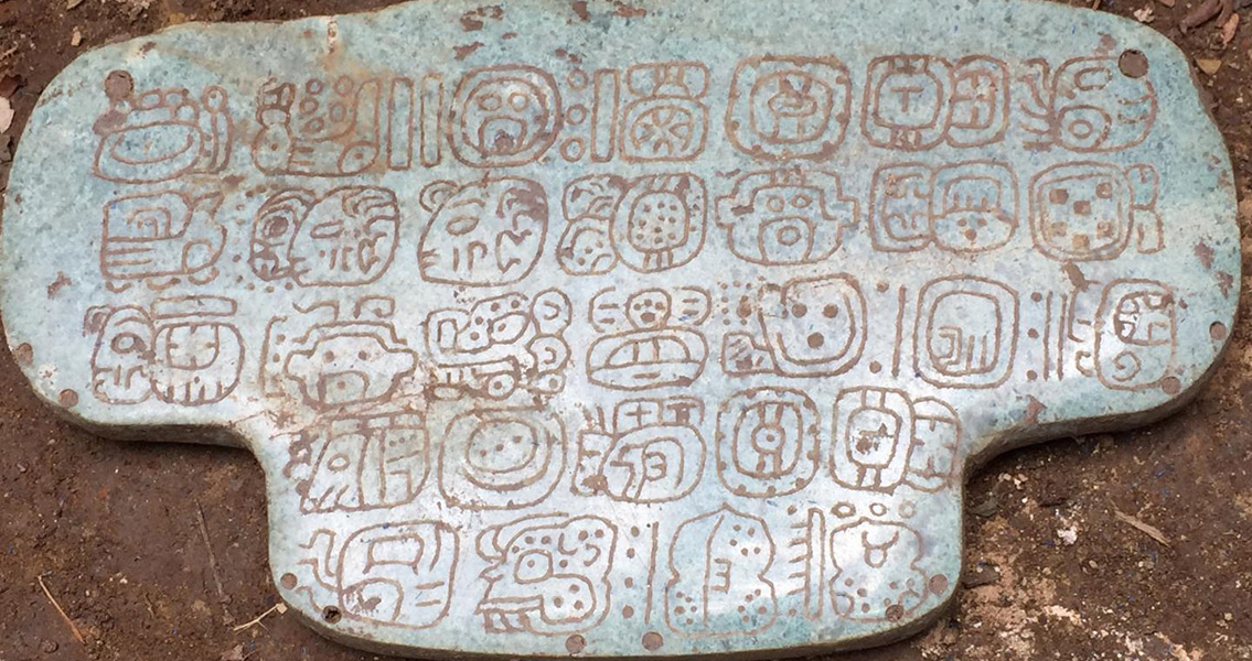 Mystery of Maya Pendant's Discovery Puzzles Researchers