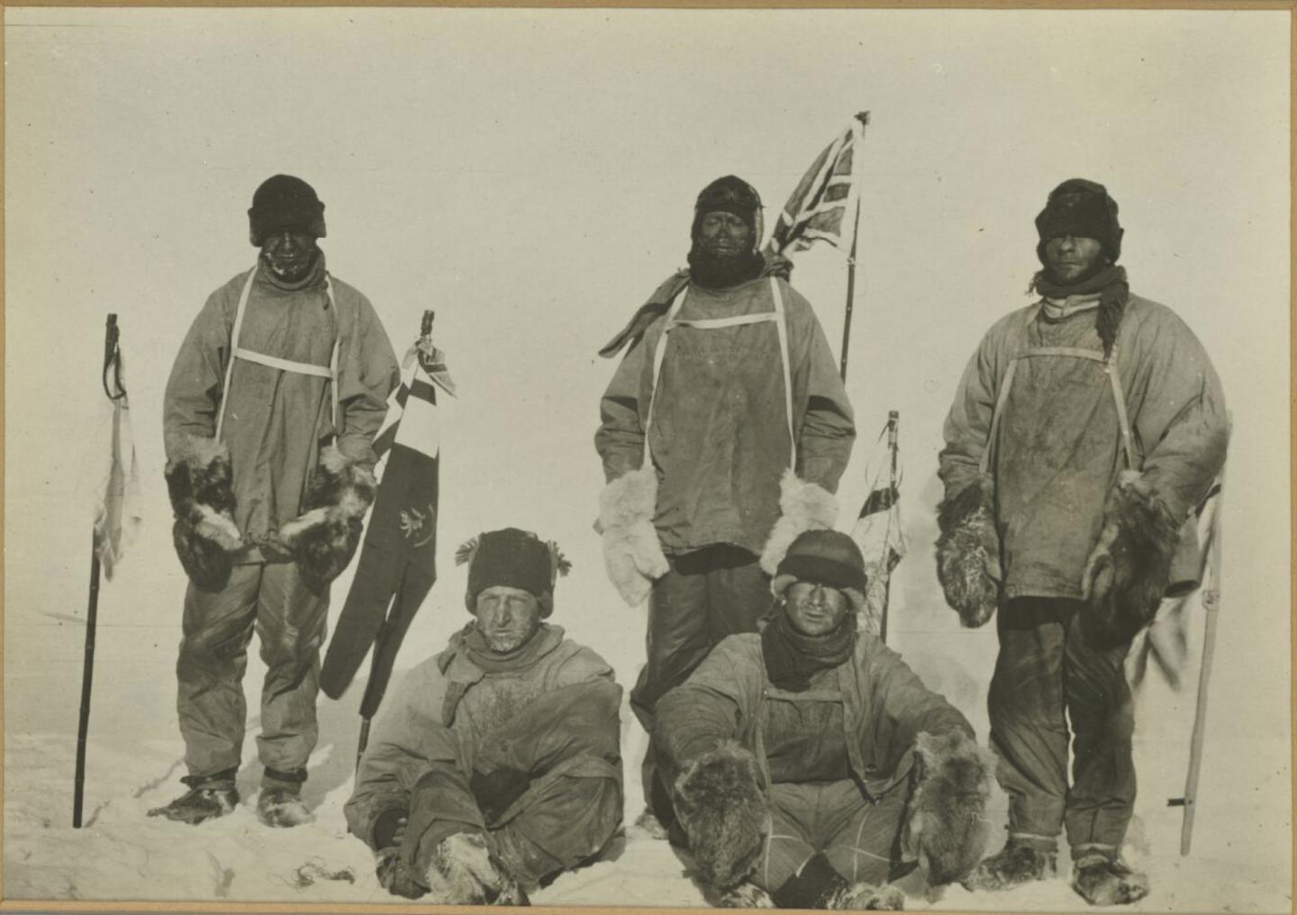 Scott of the Antarctic Expedition Team