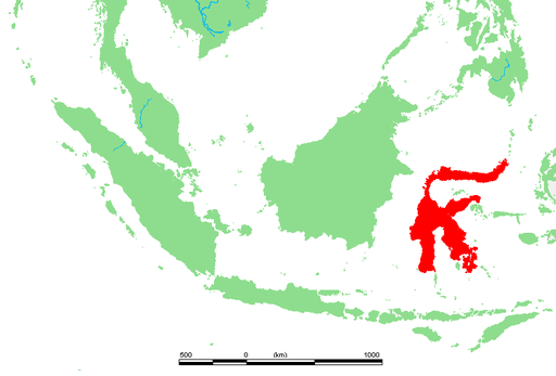 Location of Sulawesi