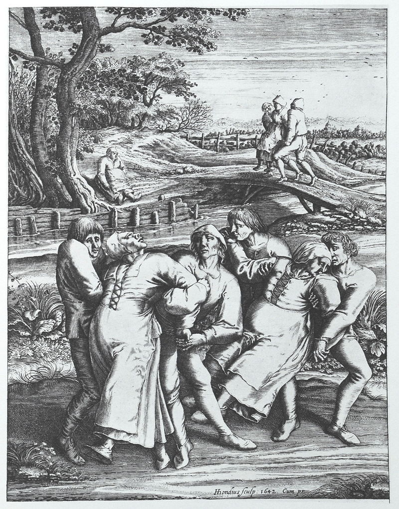Mass-anxiety in Strasbourg: what was the dancing plague of 1518?