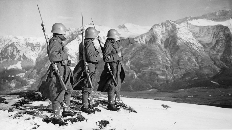 How did Switzerland stay neutral during World War II?