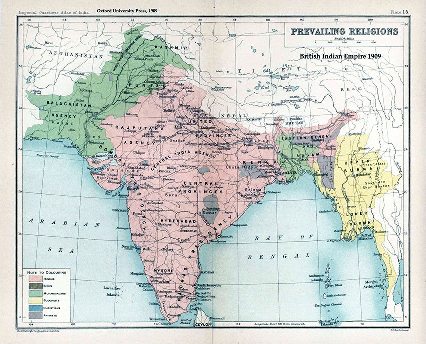 How did the Partition of India happen and what were the consequences?